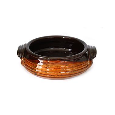 Касерола   от троянкса керамика с дръжки  ф16см  /КК - Horecano