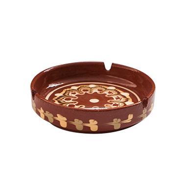 Пепелник от троянска керамика ф13см голям ТК - Horecano