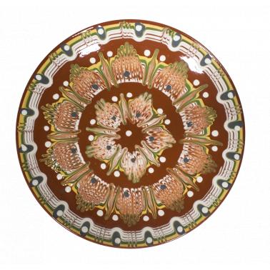 Чиния от  троянска керамика  ф30см /КК - Horecano