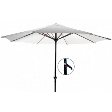Чадър 2.5м  бял (8230/B-108021) - Horecano