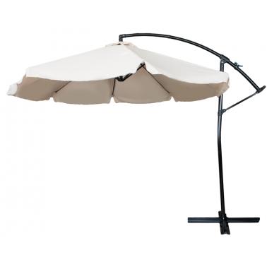 Чадър камбана 3м бежов (8820/B-108026) - Horecano