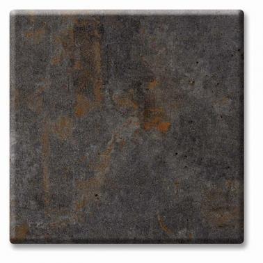 Верзалитен плот кръгъл  ф80см  метален оксид (5630) - Werzalit