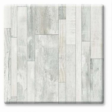 Верзалитен плот кръгъл  ф80см бяло дърво (7537) - Werzalit