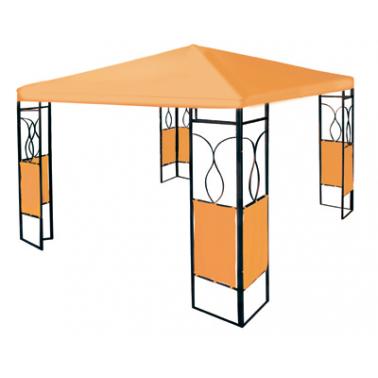 Шатра 3х3м  с ъгли оранжева - полиестер(GRP-1006)ГР - Horecano