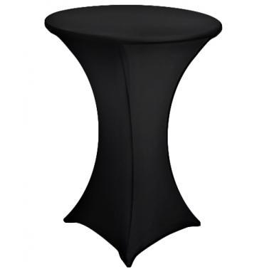 Еластан за коктейлна маса черен (HQ-T) - Horecano