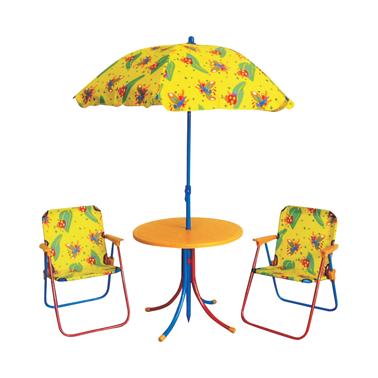 Детски комплект от  4 части жълто (KDFS002-B)ГР - Horecano