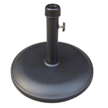 Стойка за чадър 12кг  кръг черна (NTH12-B)