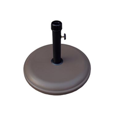 Стойка за чадър 12кг кръг кафява (NTH12-C2) - Horecano