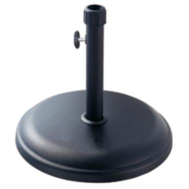 Стойка за чадър 16кг  кръг черна (TH16-B) - Horecano