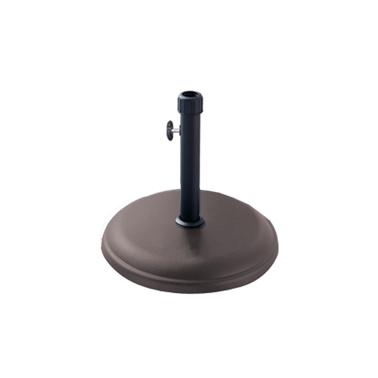 Стойка за чадър 16кг  кръг кафява (TH16-C2) - Horecano