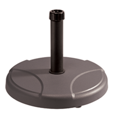 Стойка за чадър 25кг  кръг кафява (RTH25-C2) - Horecano
