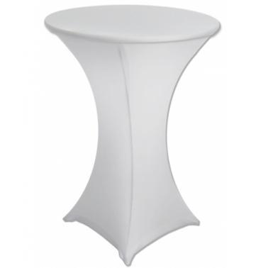 Еластан за коктейлна маса бял (HQ-T) - Horecano