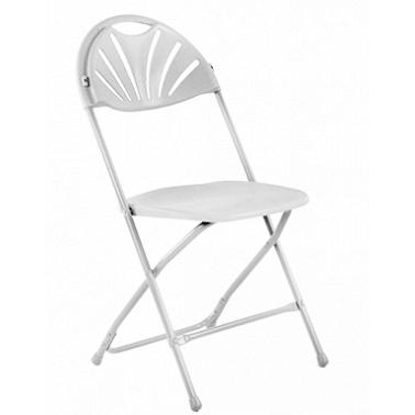 Стол, кетъринг  сгъваем бял (KP-Т1028W) - Horecano