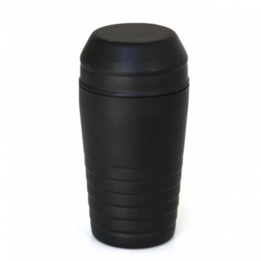 Иноксов шейкър с филтър черен  600мл (500203) - Horecano