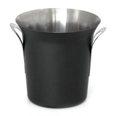 Иноксов съд за лед 9,5см черен ROYAL(502740) - Horecano