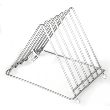 Иноксова стойка триъгълна  за дъски 22x34,5x32см - (608322) - Horecano