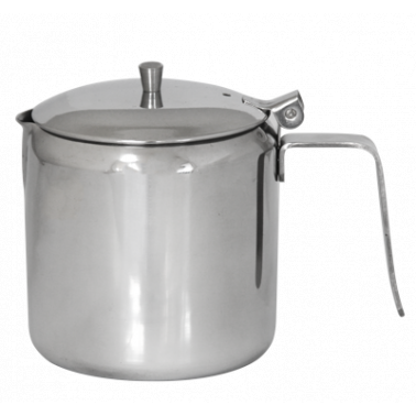 Иноксова каничка с капак за чай 500мл  (800105) - Horecano
