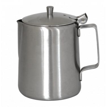 Иноксова каничка с капак за кафе конус 900мл   (800507) - Horecano