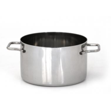 Иноксова касерола  мини  ф10,2см  (TW-V E 10.2 SH)  -  Horecano