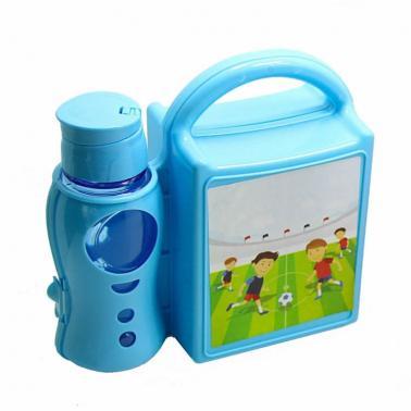 Детски комплект отпластмасовакутия за сандвичи с бутилка AKAY-(AK394) - Horecano