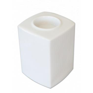 Порцеланов свещник   h10см  HONG KONG (HKG 10 MU)ГП  - Gural Porselen