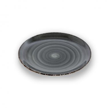 Порцеланова чиния 23смГП-ANTHRACITE-(GBSEO23DU50ANT) - Gural Porselen