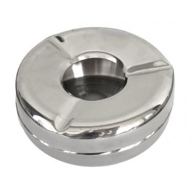 Иноксов пепелник ветроустойчив    12x5см BR-(16102 N) - Horecano