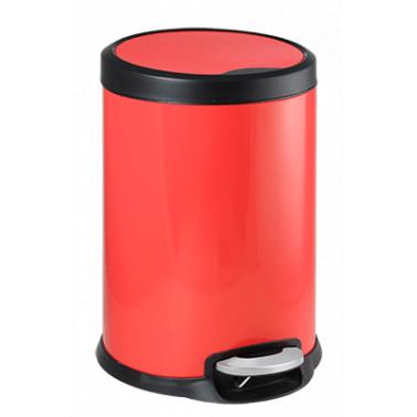 Кош с педал 31x31x46,5cм  20л  червен FANTASY G-(90987-003-R) - Horecano