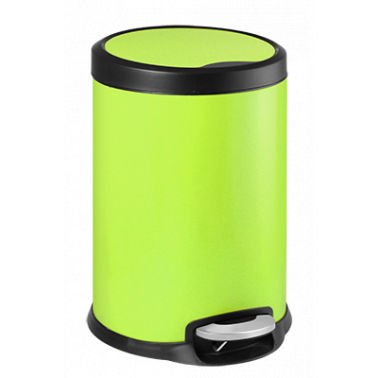 Кош с педал 31x31x46,5cм  20л  зелен FANTASY G-(90987-003-G) - Horecano