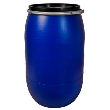 Пластмасов бидон220л с обръч (B220C)- Horecano