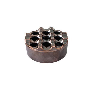 Пепелник ветроустойчив с медно покритие кръгъл   HFM-(K.0021) - Horecano