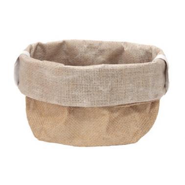 Текстилено панерче за хляб 15х15х26см  бежово HORECANO-(HC-931002)