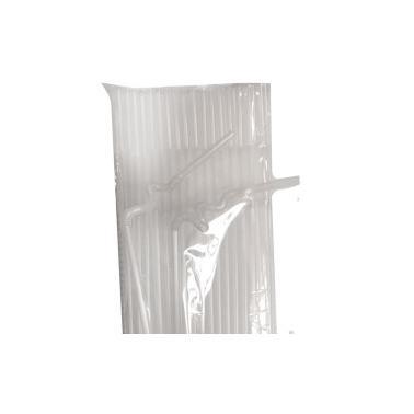 Пластмасови сламки  ф0.6х26см 100бр прозрачни BARWARE- (HC-931005)   - Horecano