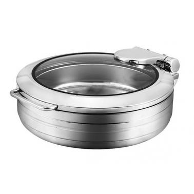 Иноксово Бен Мари кръгло с индукционно дъно, контейнер ф35см 6л 44,5x55xh17см (HC-931111) - Horecano