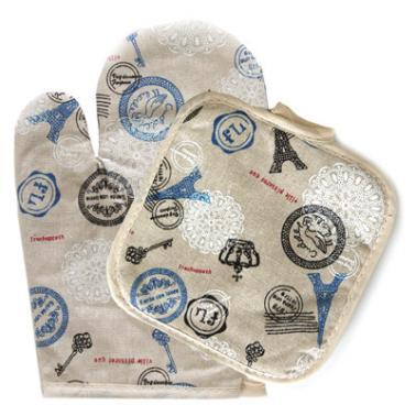 Текстилна ръкавица с ръкохватка комплект  CN-(Декор 0193560) - Horecano