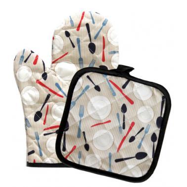 Текстилна ръкавица с ръкохватка комплект CN-(Декор 0193563) - Horecano