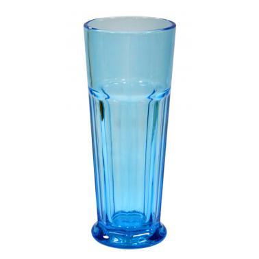 Стъклена чаша за коктейли синя450мл HORECANO-(YHJ20214)