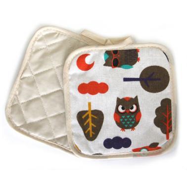 Текстилни ръкохватки  комплект 2бр. 17х17см  CN-(Декор 0193565-3) - Horecano