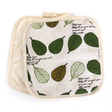 Текстилни ръкохватки комплект 2бр. 17х17см CN-(Декор 0193565-5) - Horecano