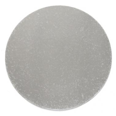 Подложка за торта за еднократна употреба сребриста 38см  BAKERY-(0193714-38) - Horecano