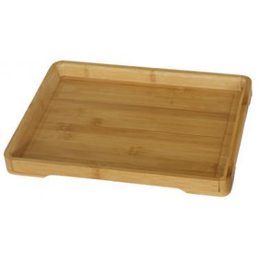 Бамбукова правоъгълна табла 46х33х2,8см  HORECANO-(HC-93794)