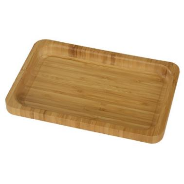 Бамбукова правоъгълна табла 35х25х2см  HORECANO-(HC-93796)