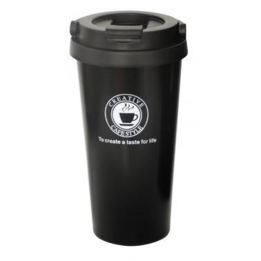 Термочаша 500мл черна  с лого CN-(HC-93846) - Horecano