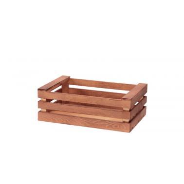 Дървена касетка 25х16,5х10см (HC-93869) - Horecano