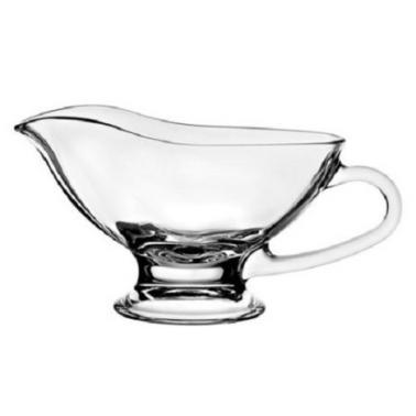 Стъклена сосиера Elega 220мл 12.5x7.9см HORECANO- (HC-93926)
