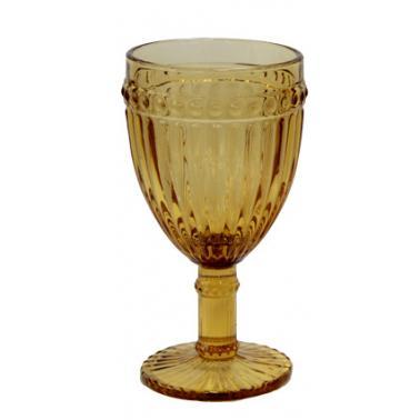 Стъклена чаша  за бяло вино жълта ф7.8х15см 260мл OLD SCHOOL - (HC-93955) -Horecano
