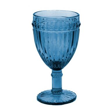 Стъклена чаша за червено вино ф8.5х16.5cm 300ml СИНЬО OLD SCHOOL-(HC-93959) 194610-2 - Horecano