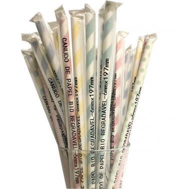 Хартиени сламки в опаковка 200бр. микс BARWARE-(HC-93979) 194629 - Horecano