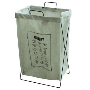 Кош за дрехи голям 35х26х59см зелен CN-(M-93987)- Horecano