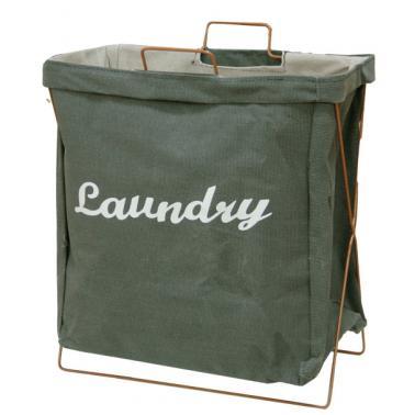 Кош за дрехи среден 40х25х40см зелен CN-(M-93993)- Horecano